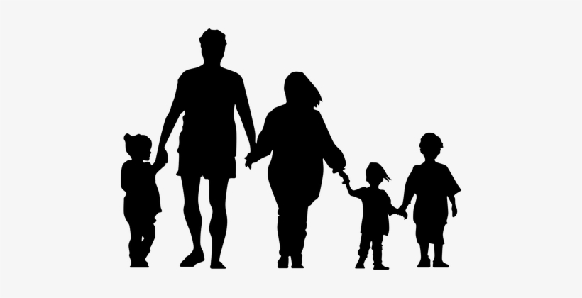 Boy Child Dad Daughter Family Father Femal - Don't Hug Your Mother, transparent png #1128