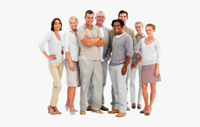 Tıkla - Group Of People Business Casual, transparent png #1203