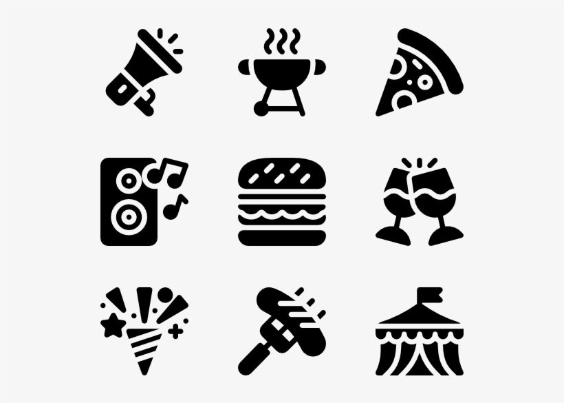 Event Agency 50 Icons - Events Icon Png, transparent png #1620