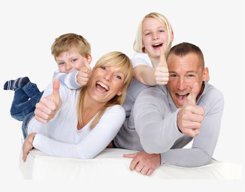Water Filter Family Happiness Home - Mum Dad And Kids, transparent png #168