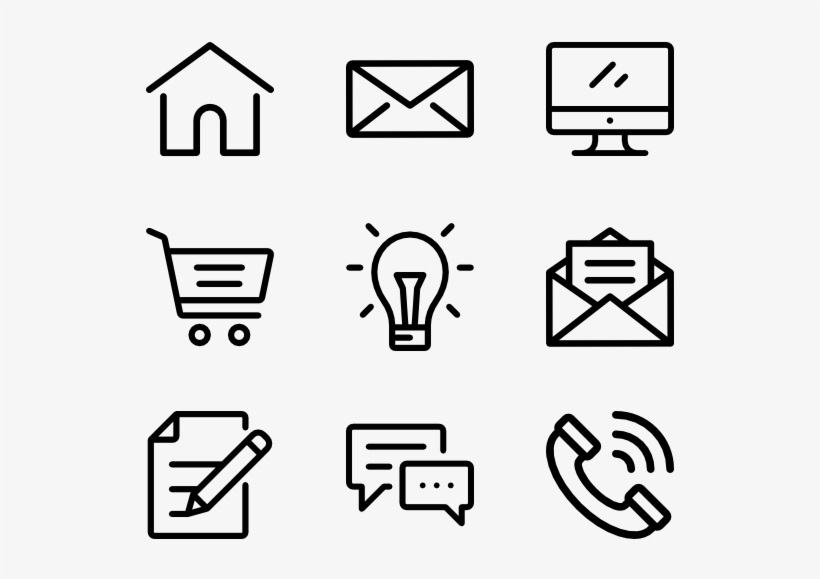 Black And White Download Packs For Free Vector Svg Hobby Icons Free Transparent Png Download Pngkey
