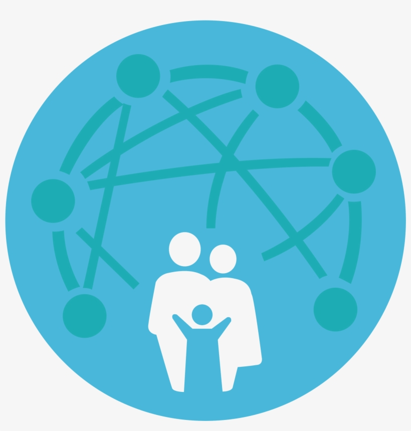 The Focus Of Family Center Is To Build A Network Of - Circle, transparent png #1861