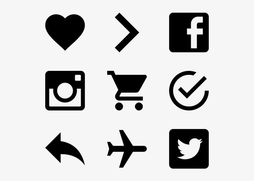 Material Design 423 Icons - Follow Us On Social Media Card, transparent png #1865