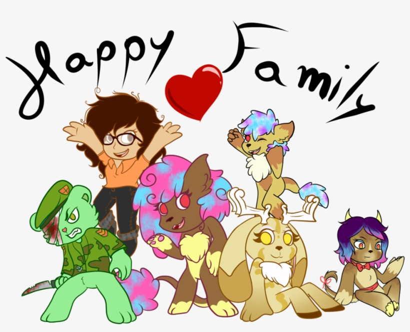 By Lasry On Deviantart - Happy Family Animation, transparent png #201