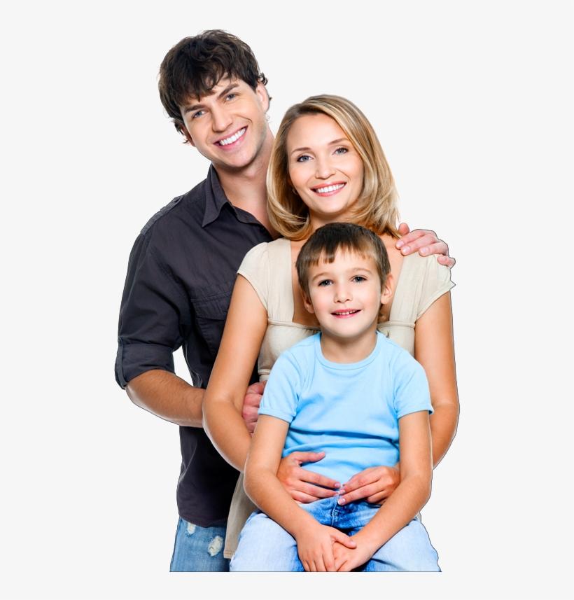 La Familia De La Fotografía De Stock - Happy Family Png Stock, transparent png #2410