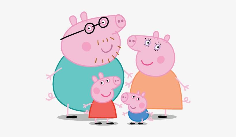 Peppa Pig Personajes - Familia De Peppa Pig, transparent png #2709