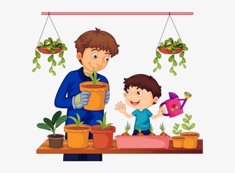 Clip Art Transparent Personnages Illustration Individu - Showing Love To Family Clipart, transparent png #2882
