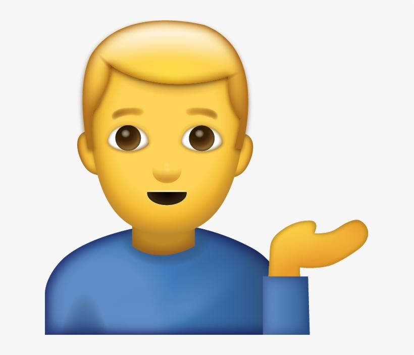 Whatsapp Man Emoji Png - Free Transparent PNG Download