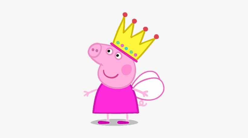 Im225genes De Personajes Amigos De Peppa Pig Im225genes - Peppa Pig With Crown, transparent png #3013