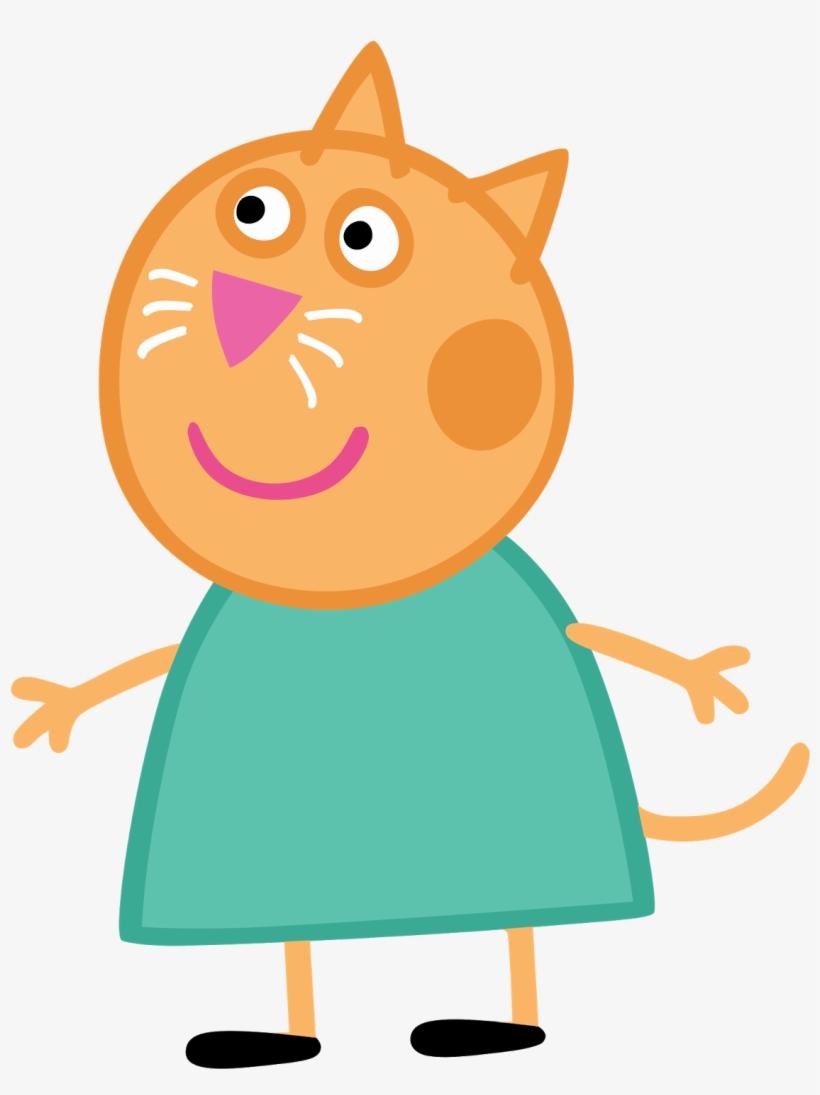 Peppa Pig Png - Peppa Pig Cat, transparent png #3077