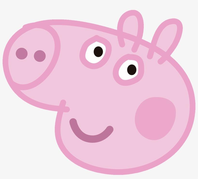 Peppa Pig 05 Pictures - Peppa Pig Face Transparent, transparent png #3164