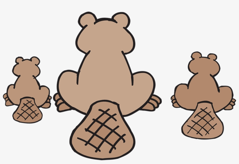 Happy Family Clipart 24, Buy Clip Art - Canadian Beaver Throw Blanket, transparent png #3245