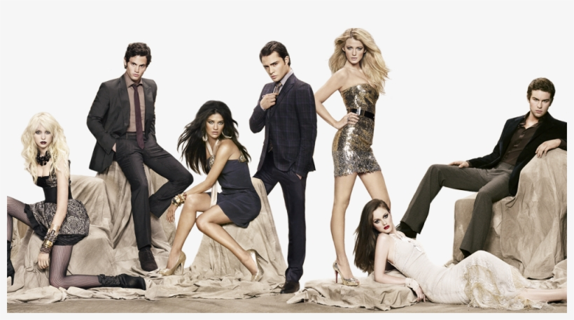 The Art Of Disguise - Gossip Girl Cast Photoshoot, transparent png #3581