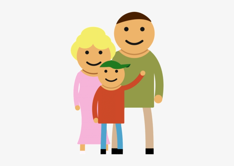 Animated Family Clipart Animated Film Family - Gif Animation Family Animated Gif, transparent png #3881