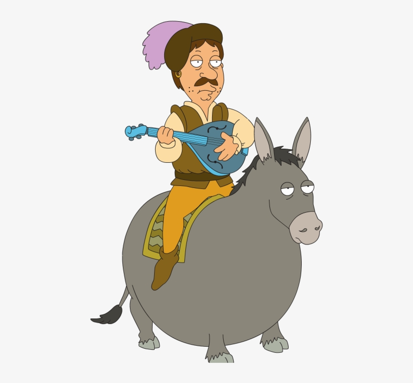 I Know Family Guy For Kids - Family Guy Bruce Donkey, transparent png #4023