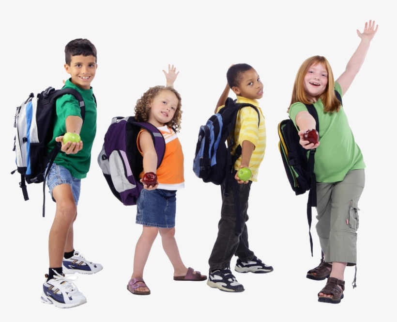 1994 Kids And Watertow - Back To School Kids Png, transparent png #4106