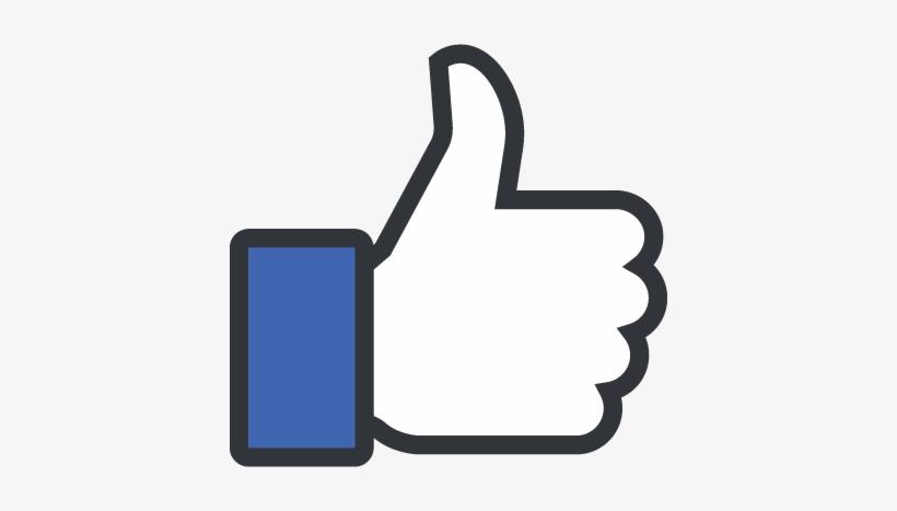 Icono Del Pulgar - Facebook Thumbs Up Emoji, transparent png #4198