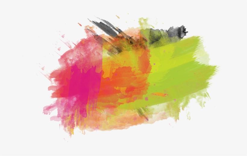 Watercolor Splashes Png - Paint Splash Png, transparent png #4279