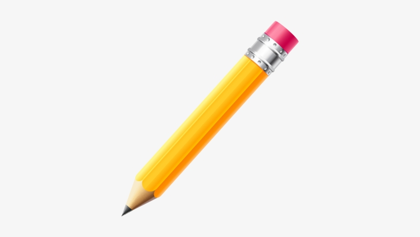 Yellow Pencil Transparent Png - Pencil, transparent png #4312