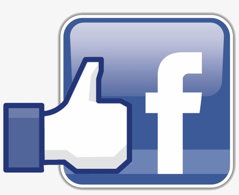Facebook Icon With Like - Facebook Page Like Logo, transparent png #4488