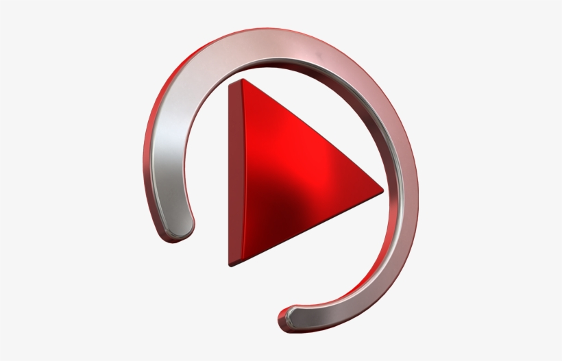 Play, Logo, Red From Abouthere - Logo For Music Video, transparent png #4494