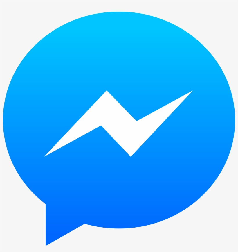 Open - Facebook Messenger Logo, transparent png #4550