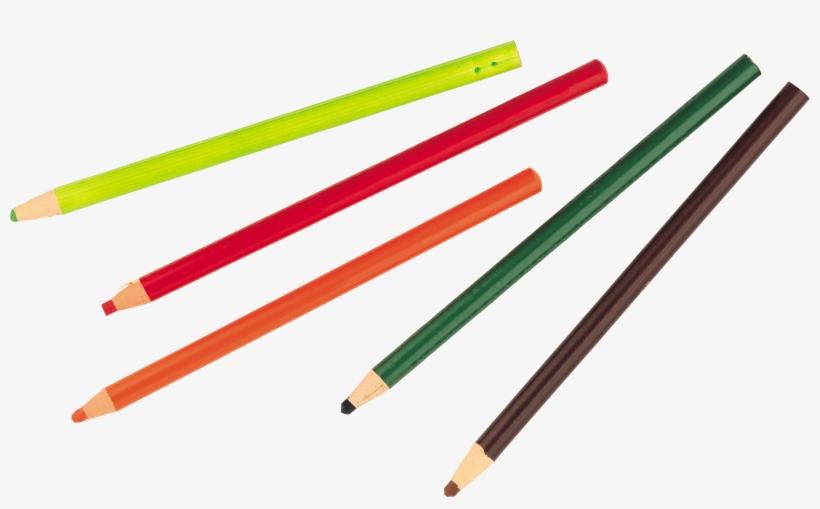 Color Pencil's Png Image - Colored Pencils Png, transparent png #4767