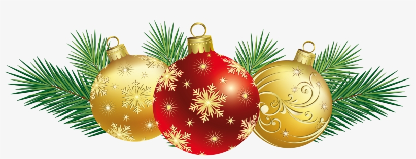 Red Christmas Ornament Png Lizardmedia - Free Clipart Christmas, transparent png #4849