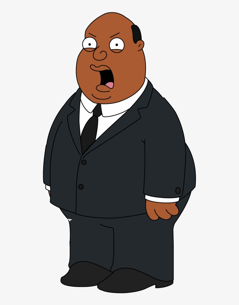Family Guy Clipart Transparent Background - Black Chris Family Guy, transparent png #493