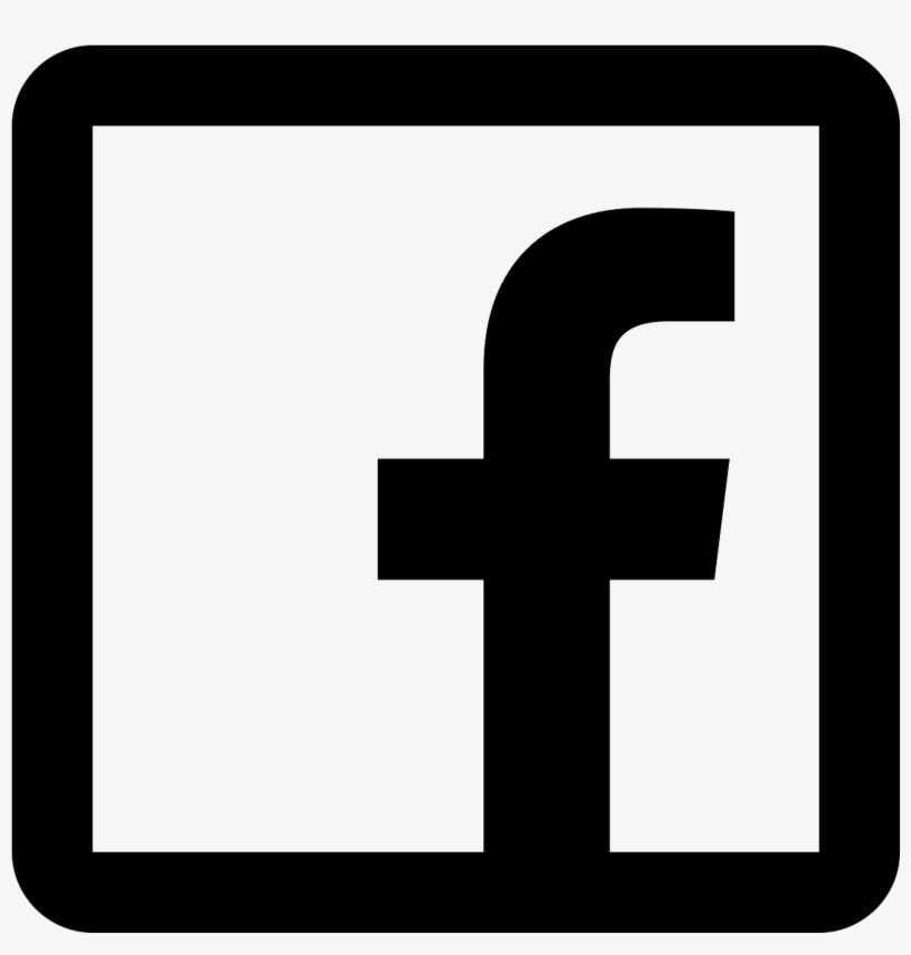 Computer Icons Facebook Like Button Clip Art - Facebook Logo Transparent Black And White, transparent png #5082