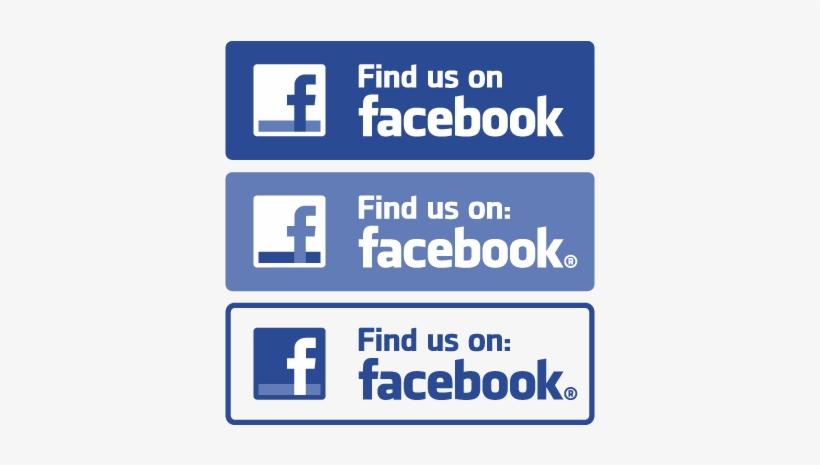 Find Us On Facebook Vector - Logo Find Us On Facebook, transparent png #5112