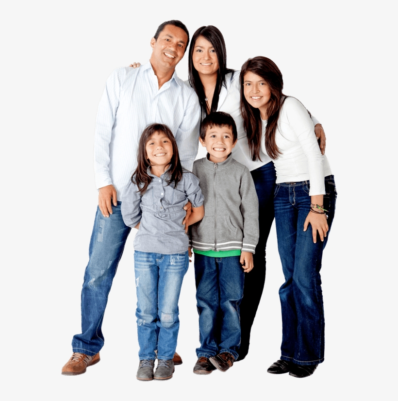 dental family png latin family isolated free