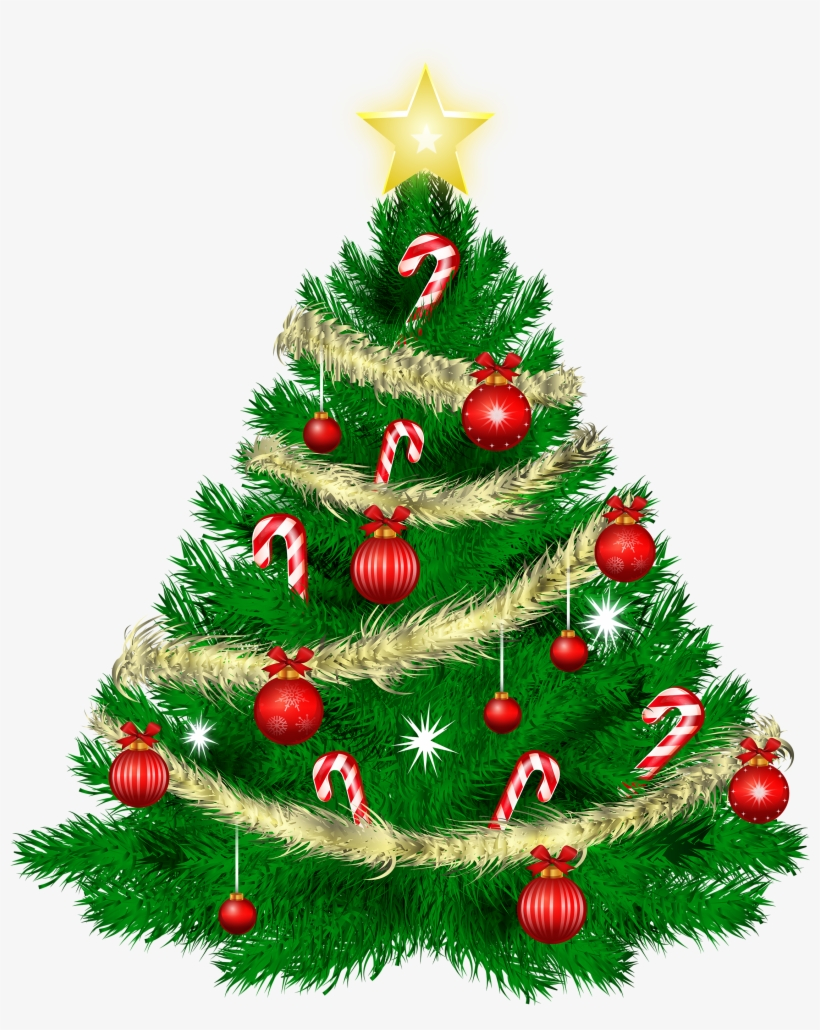28 Collection Of Christmas Tree Clipart Png, transparent png #5169
