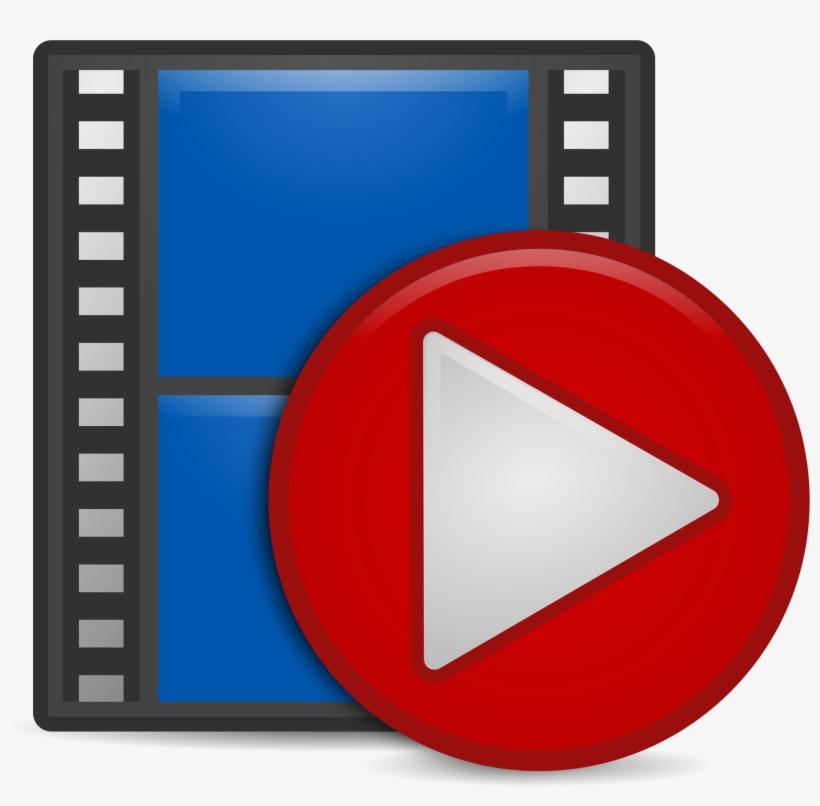Clipart Video Big Image Png - Play Video Clip Art, transparent png #5194