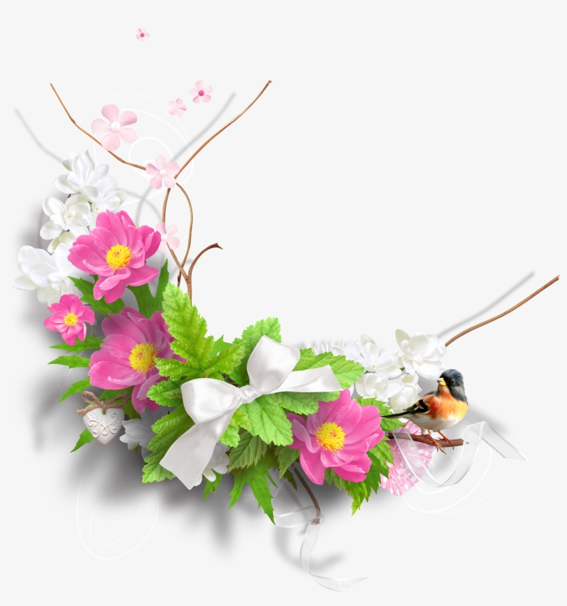 Spring Flowers Image - Flowers Decoration Png, transparent png #5594