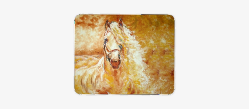Cloud Of Horse Dream - Abstract Horse Pictures To Paint, transparent png #5701