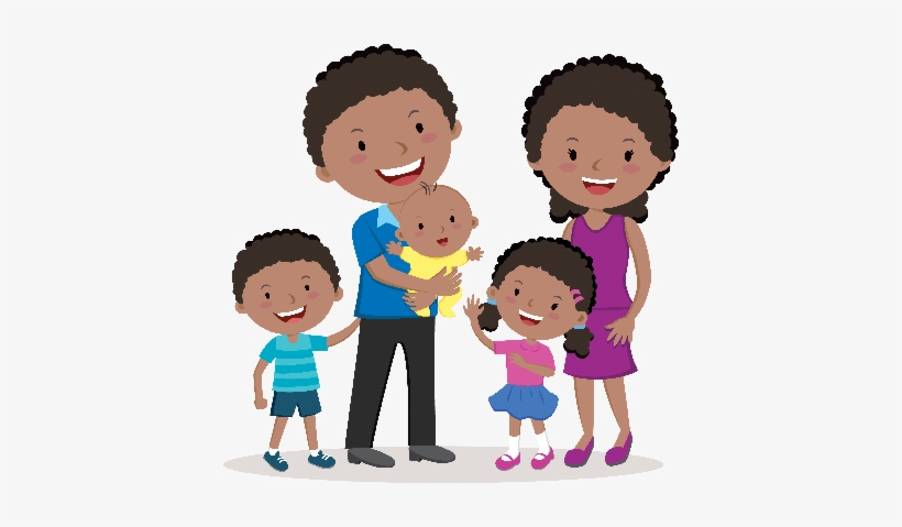Happy Family Portraits Clipart The Arts Image Pbs Learningmedia - Happy Family Png Clipart, transparent png #60