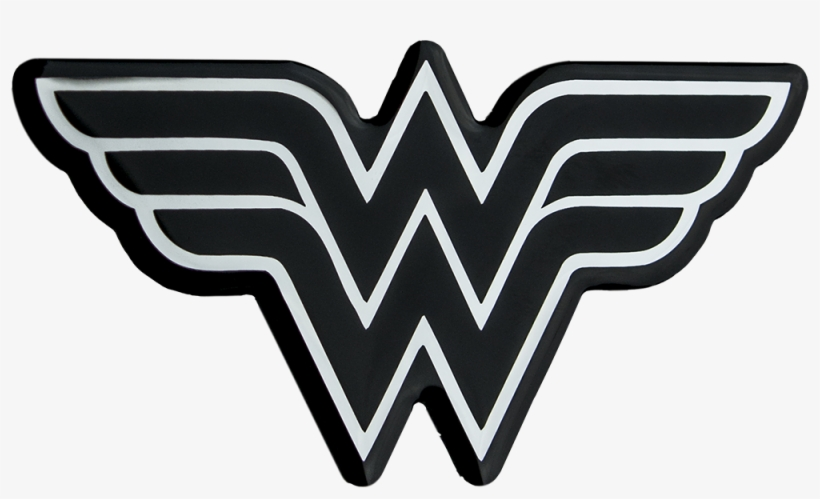 Wonder Woman Logo Png Pic - Black Wonder Woman Logo, transparent png #6104