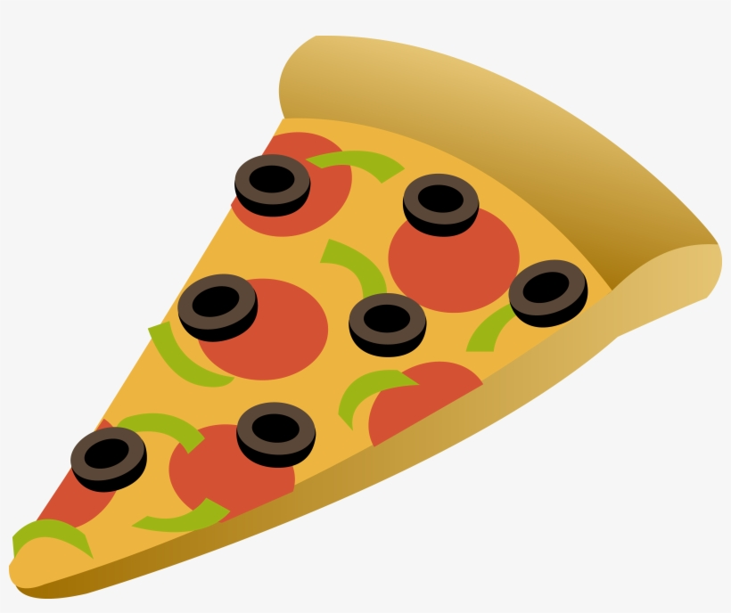 Drawing Pizza Slice Free Image Picture Freeuse Stock - Slice Of Pizza Cartoon, transparent png #6139