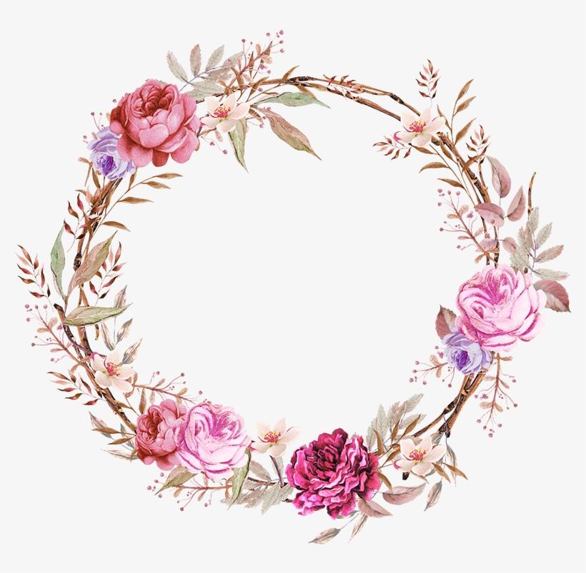 Frames Floral Em Png Para Baixar - Frames Floral Em Png, transparent png #6209