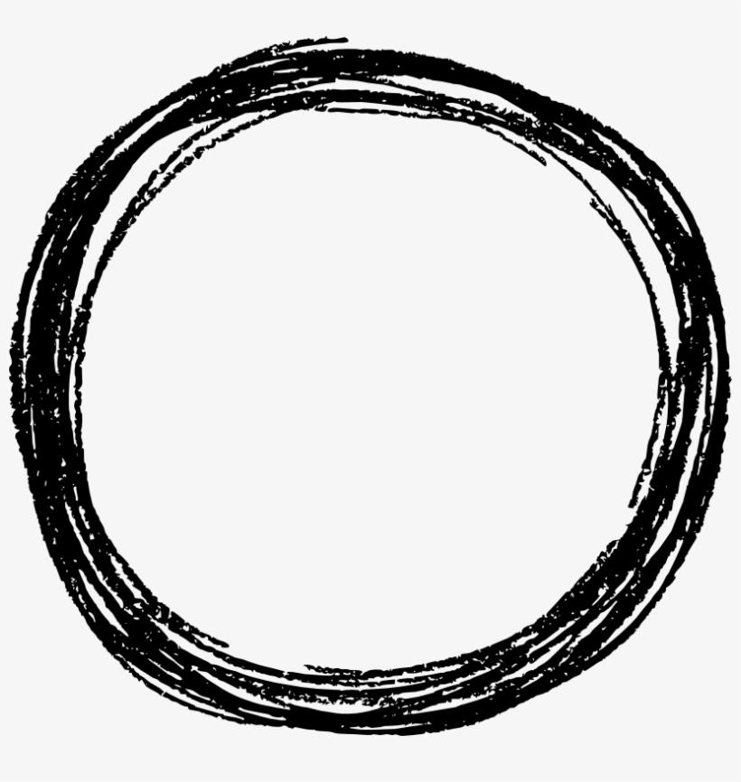 Free Download - Sketched Circle Transparent Background, transparent png #6503