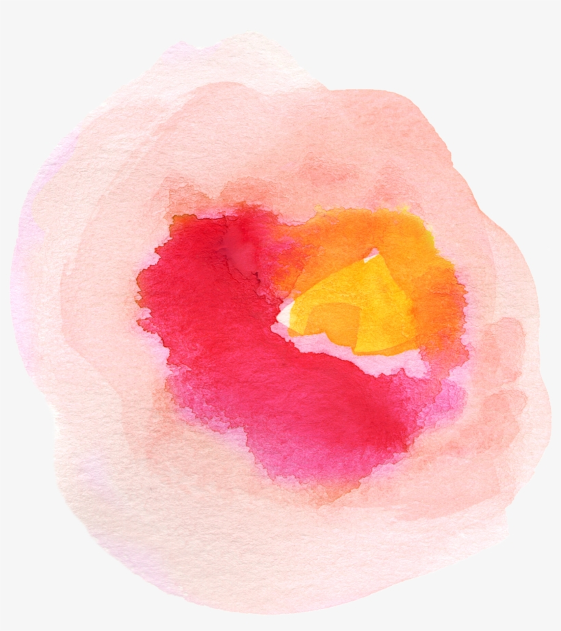 Free Fall Watercolor Floral Clip Art - Watercolor Flower Clip Art Transparent, transparent png #6844