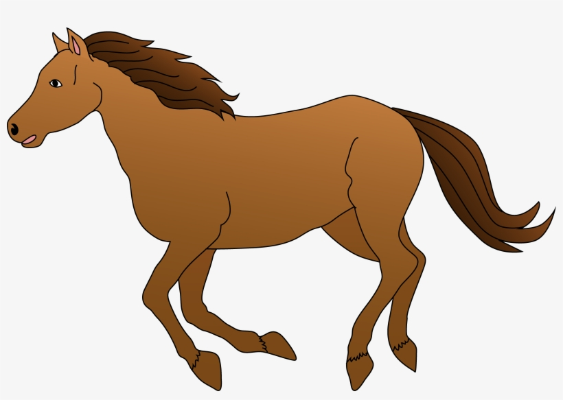 Free Horse Clip Art Pictures - Clipart Picture Of Horse, transparent png #6979