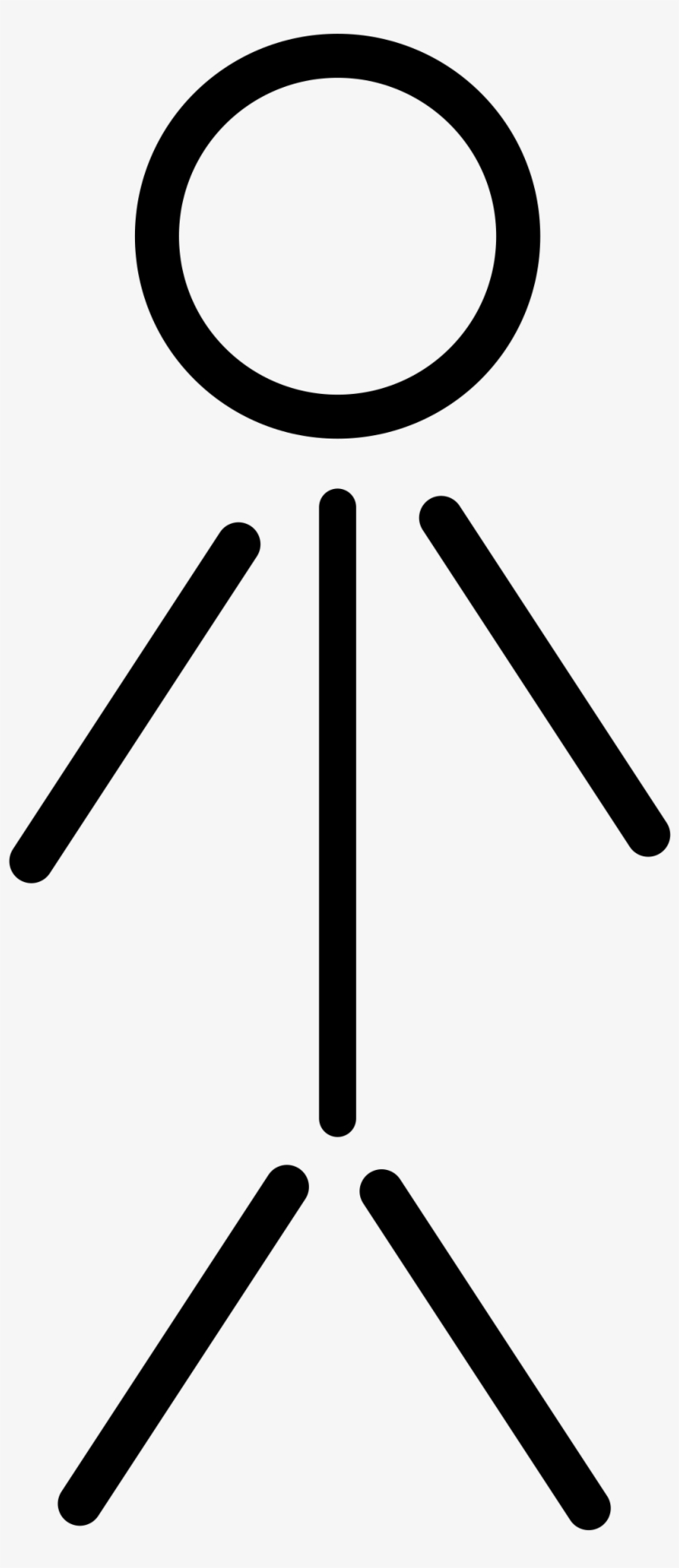 People - Clipart Stick Figure, transparent png #7173