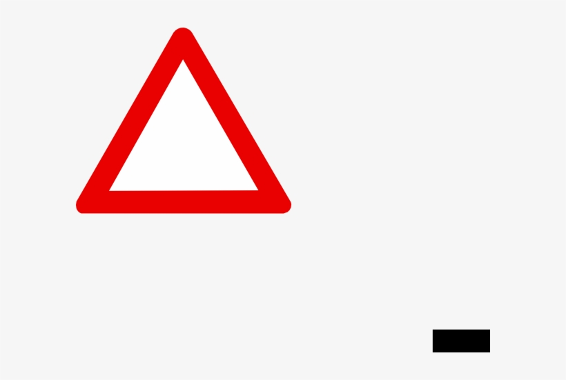 Blank Stop Sign Template Images Pictures - Warning Triangle