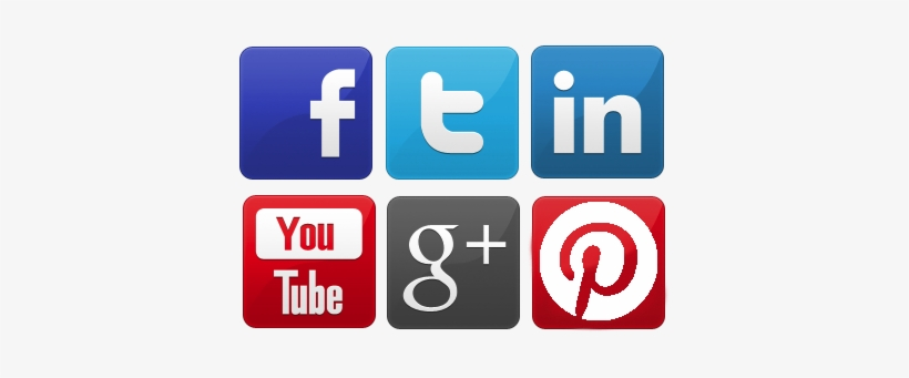 Free Icons Png - Social Media Icons Png Large, transparent png #7209