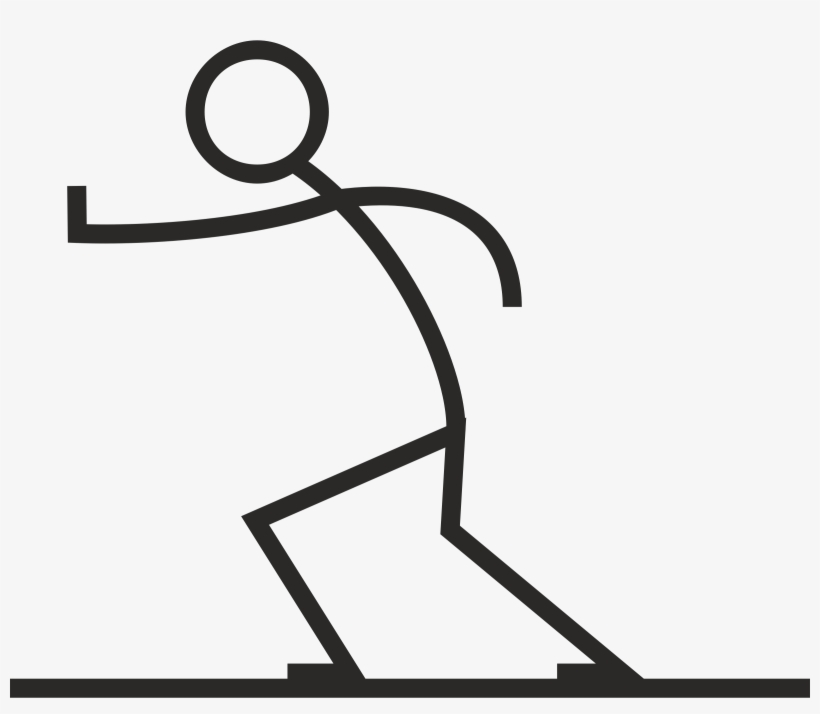 People - Stick Figure Pushing Each Other, transparent png #7238