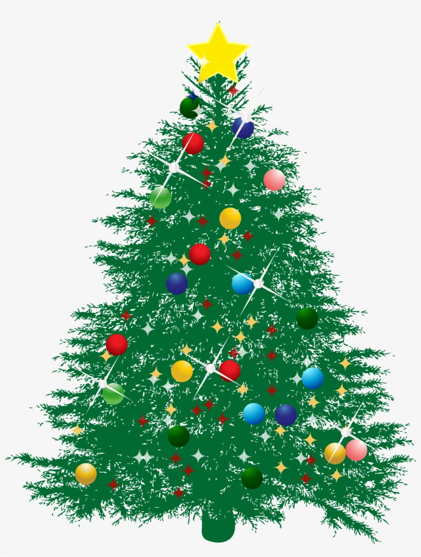 15 Christmas Tree Vector Png For Free Download On Mbtskoudsalg - Transparent Christmas Tree Vector, transparent png #7422