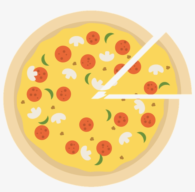 Pizza, Pizza Icon, Pizza Slice, Slice Of Pizza, Emblem - Pizza Party Slice Icon, transparent png #7680