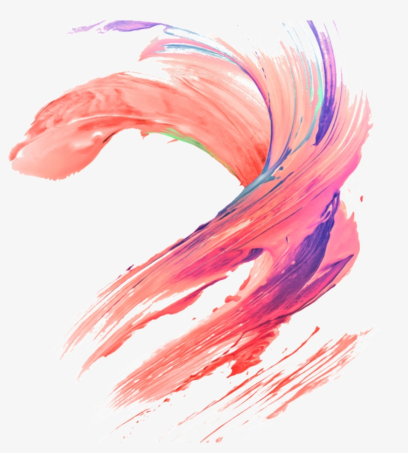 This Graphics Is Color Brushes With Transparent About - Transparent Color Brush Png, transparent png #7800